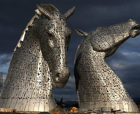 steel horse heads
