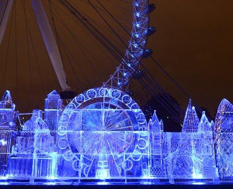 ice sculpture of london