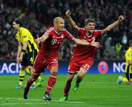 Arjen Robben Thomas Muller Goal