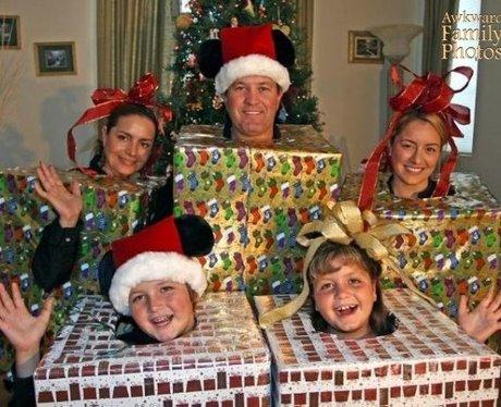 ugly family christmas photos
