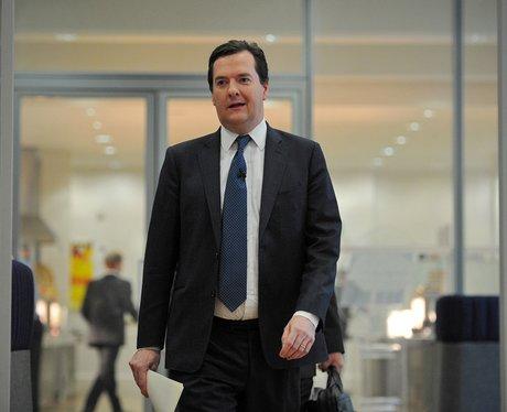 George Osborne in a black suit