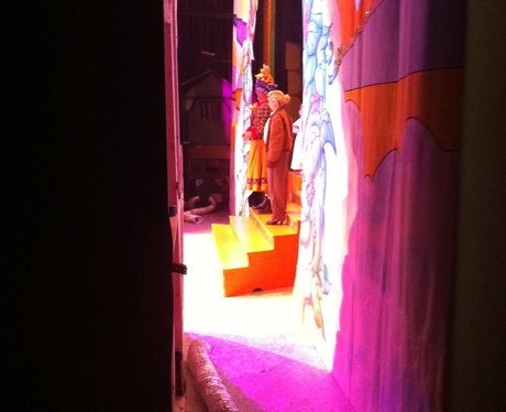 James And Charlie In Panto
