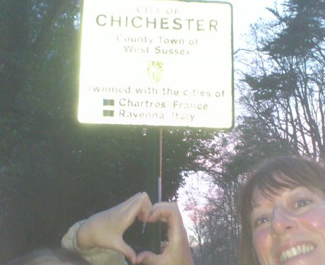 Give It Some Heart relay Chichester