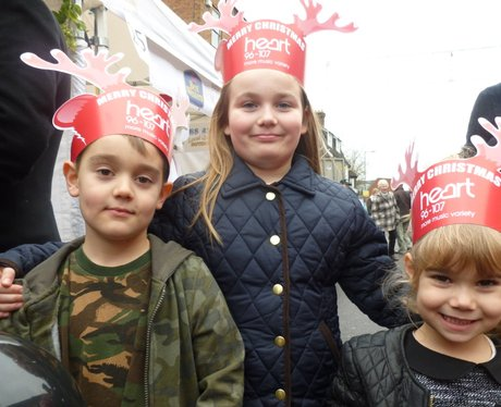 The Heart Angels Headed to Reigate for the Busines