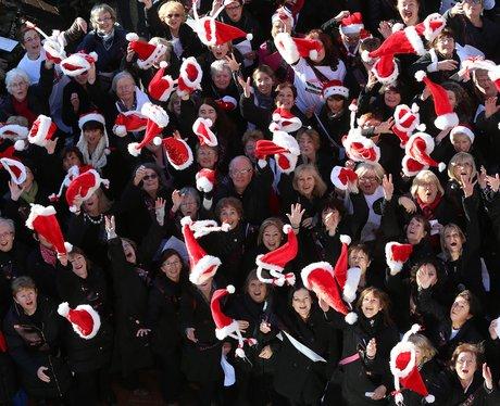 choir singers gather in dublin