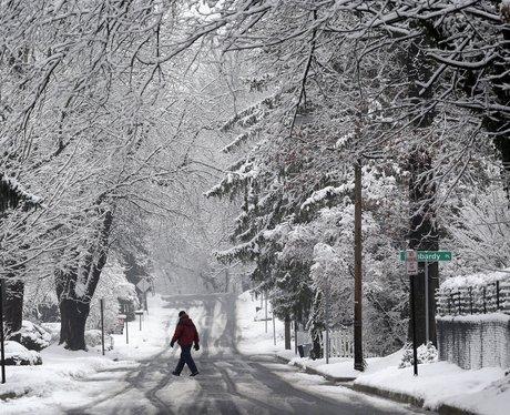 snowy scene in maryland