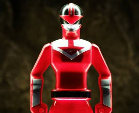 Red Power Ranger toy