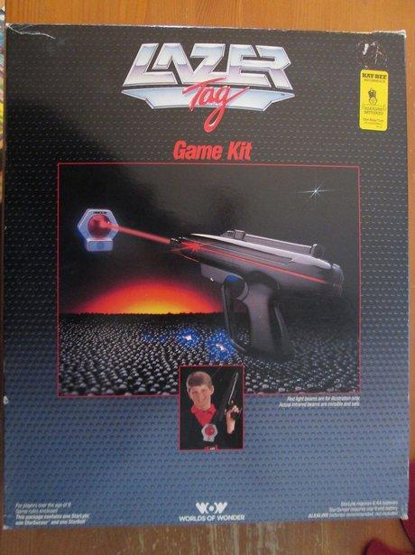 Lazer-Tag game box