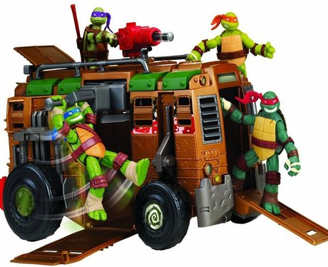 Teenage Mutant Ninja Turtles full toy set