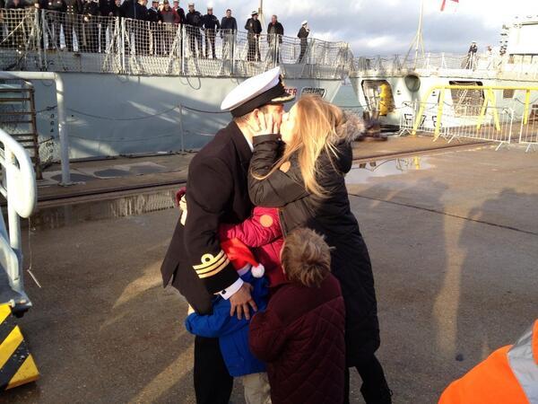 HMS Lancaster Portsmouth December 2013