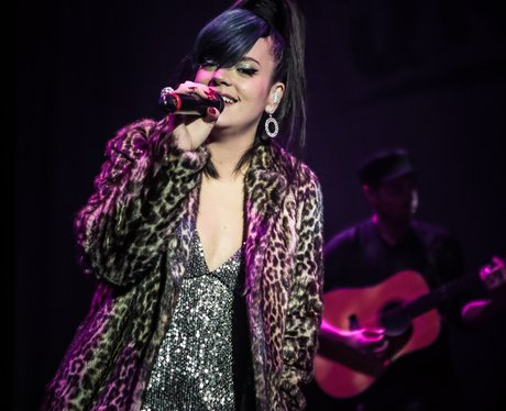 Lily Allen live on stage