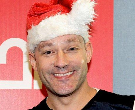 toby anstis with santa hat