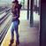 Image 2: J-Lo waiting at a train station