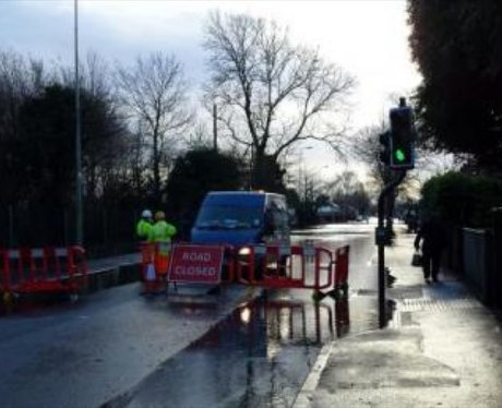 Abingdon Road Closed