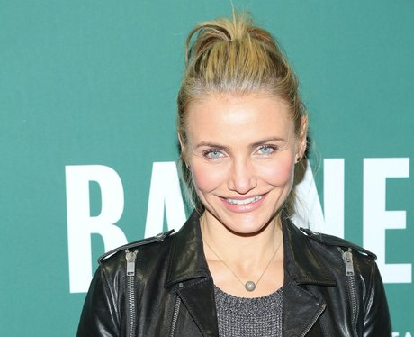 Cameron Diaz promoting her new book 'The Body Book'