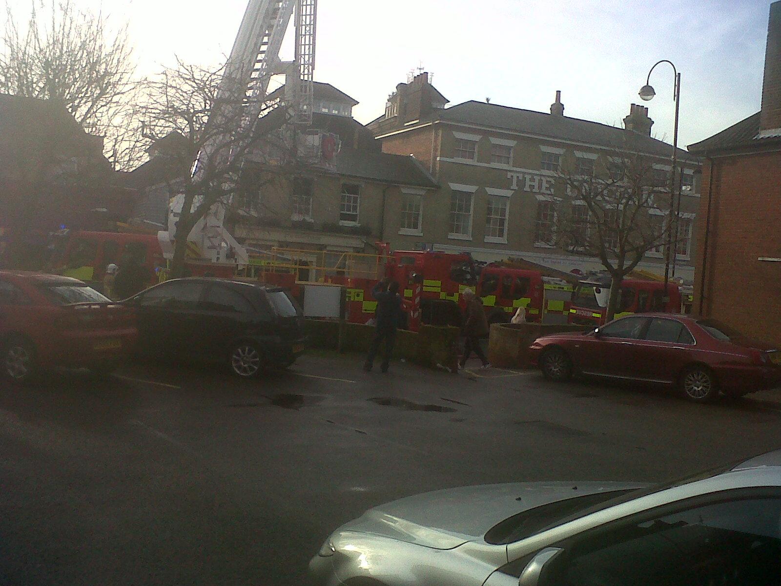Ipswich restaurant fire