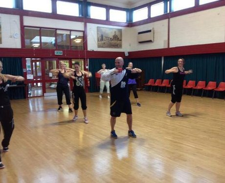 Jack Takes His First Zumba Class