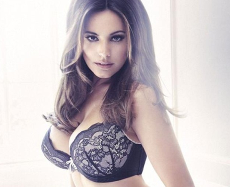 Kelly brook black lingerie share your
