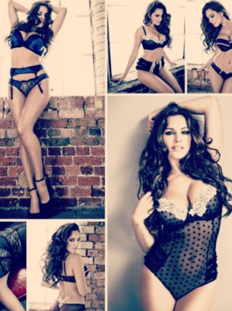 Kelly Brook in multiple underwear shot