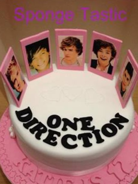 Pleasant One Direction Celebrities Immortalised In Cake Heart Funny Birthday Cards Online Elaedamsfinfo