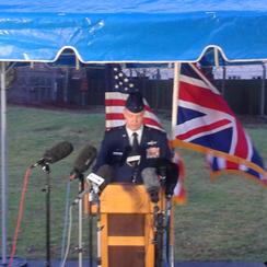 RAF Lakenheath Commander Colonel Kyle Robinson