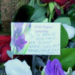 RAF Lakenheath Tribute Message