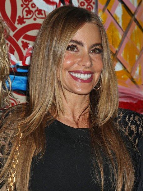 sofia vergara smiling