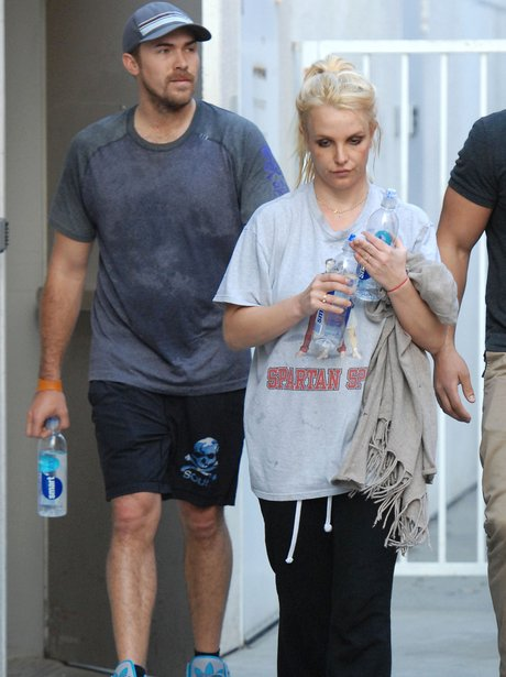 Britney Spears and Boyfriend David Lucado
