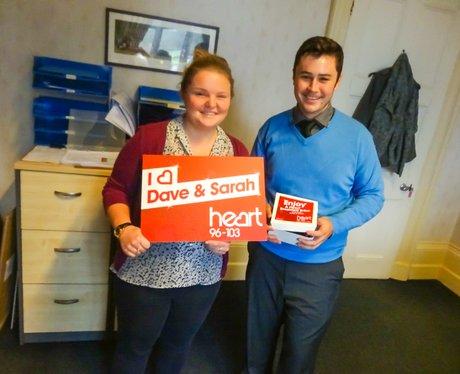 Dave & Sarah Breakfast Bribe