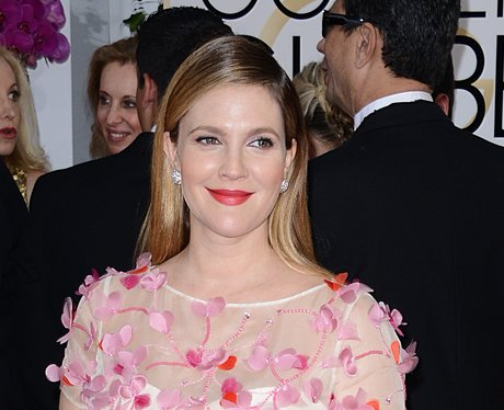 Drew Barrymore at the Golden Globe Awards 2014