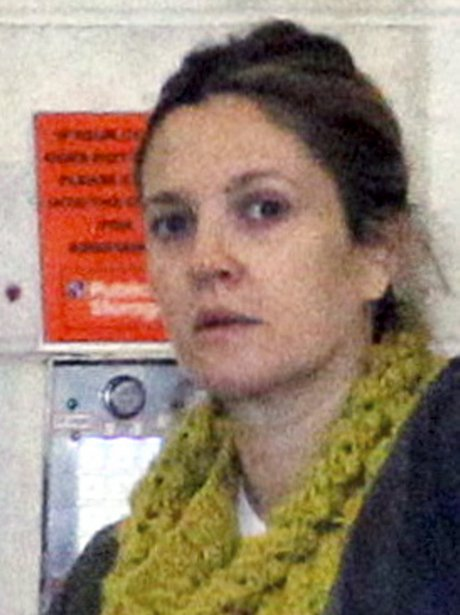 Drew Barrymore seen here without make up