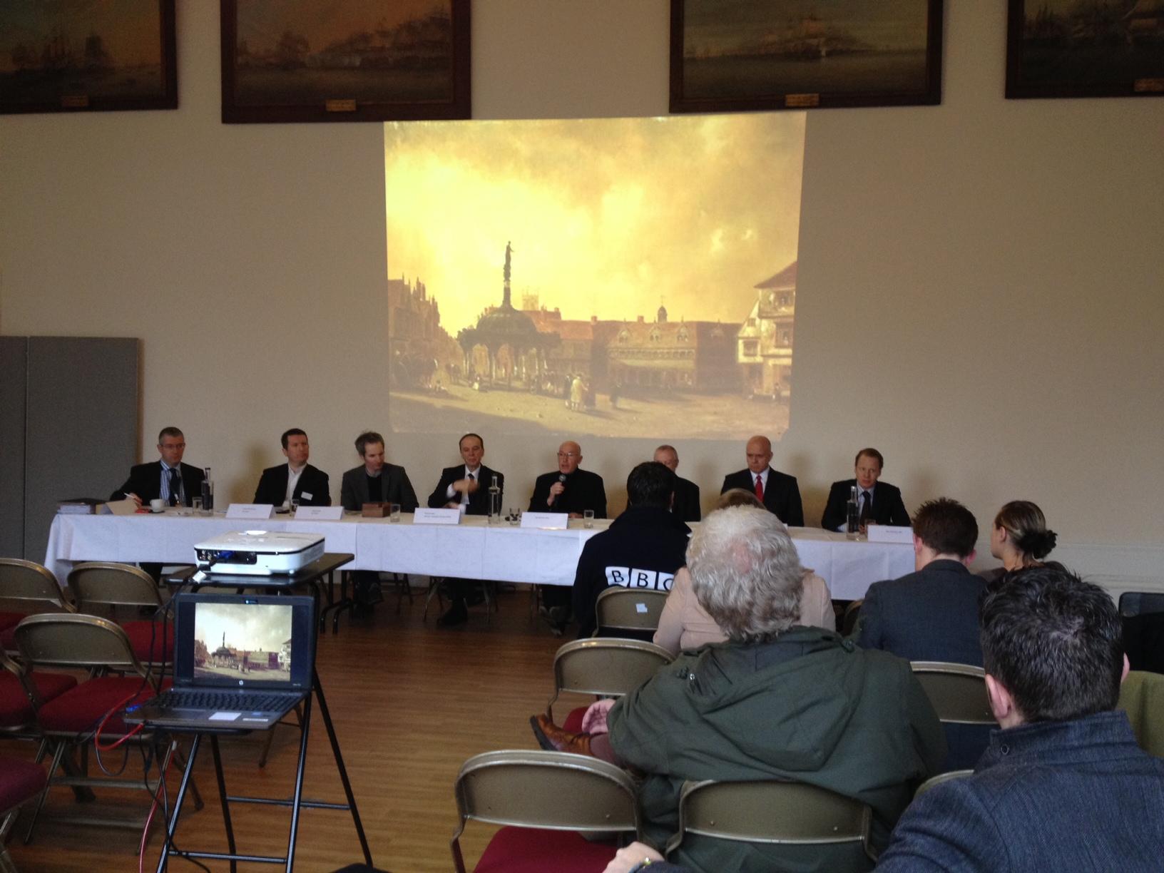 Ipswich Cornhill Refit Press Conference