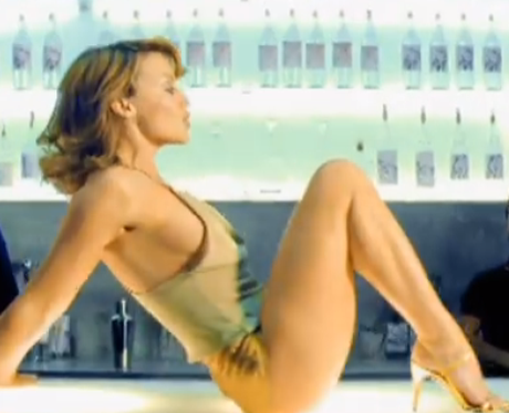 kylie minogue in hotpants