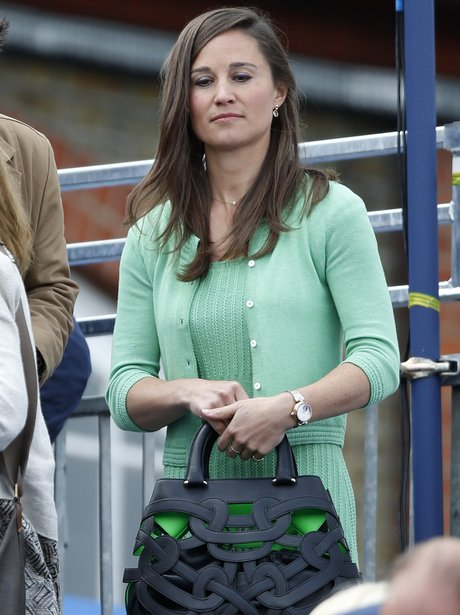 Pippa Middleton in green