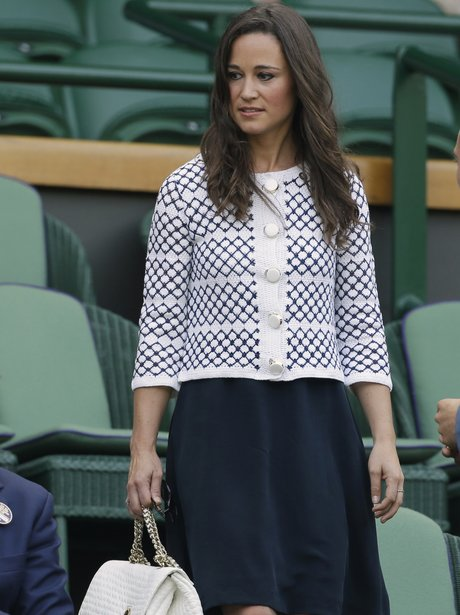 Pippa Middleton in a jacket