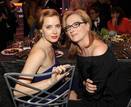 Amy Adams and Meryl Streep at the SAG Awards