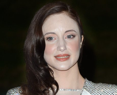 andrea riseborough wearing too much powder