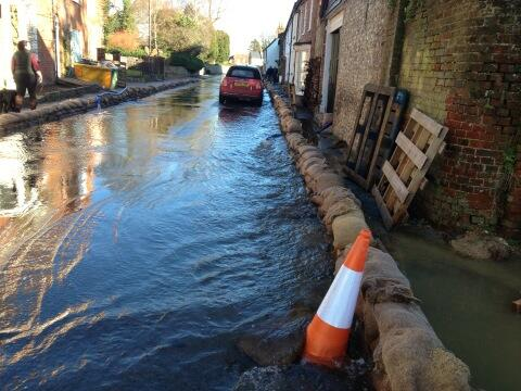 Hambledon flood