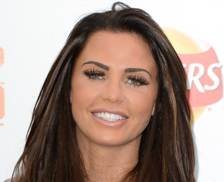katie price with concealer on her lips
