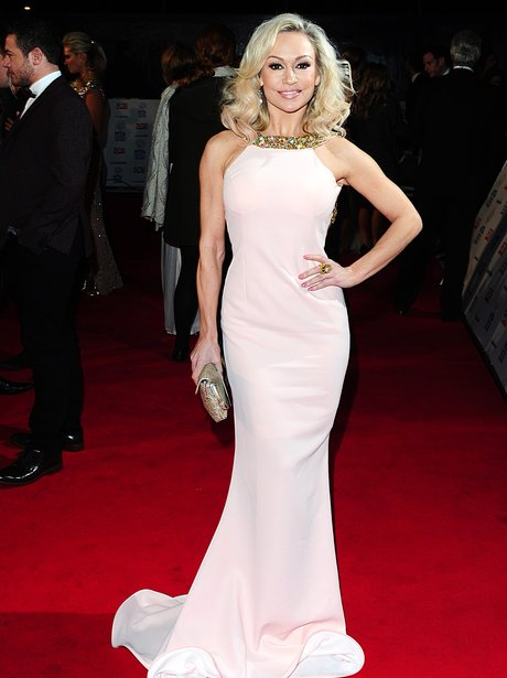 Kristina Rihanoff on the red carpet