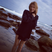 Image 8: Kylie Minogue in a blue coat on a beach
