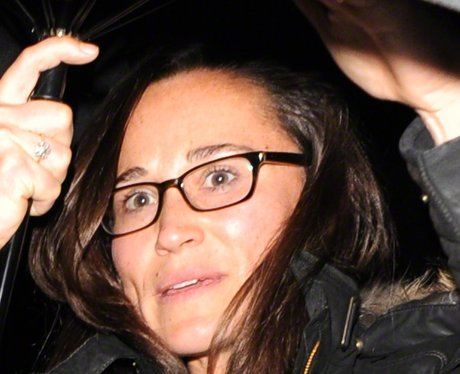 Pippa Middleton wearing spectacles
