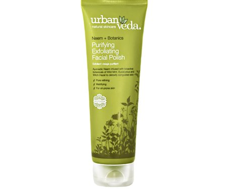 urban veda exfoliating facial polish