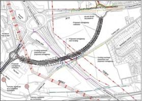 A11 Thickthorn Bypass Plan