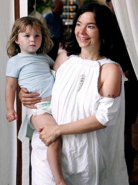 Bjork and daughter Isadora