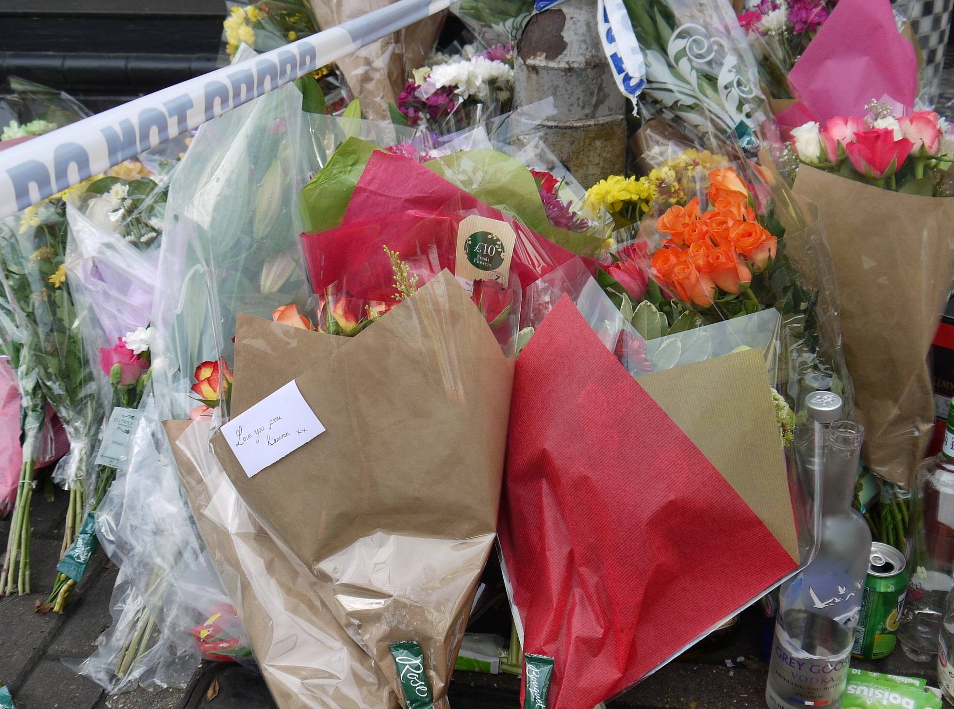Costin Street Floral Tributes