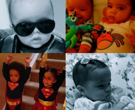 Mariah Carey's children/twins montage
