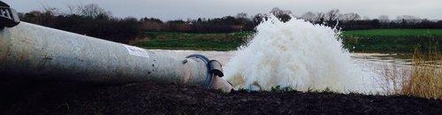 Northmoor Green flood pumping