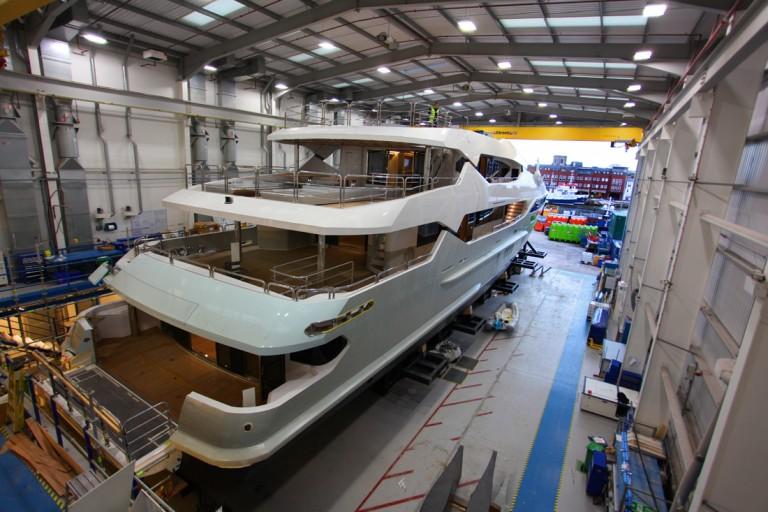 Sunseeker 155 yacht Poole 2