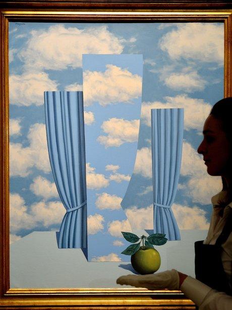 'Le Beau Monde' by Rene Magritte